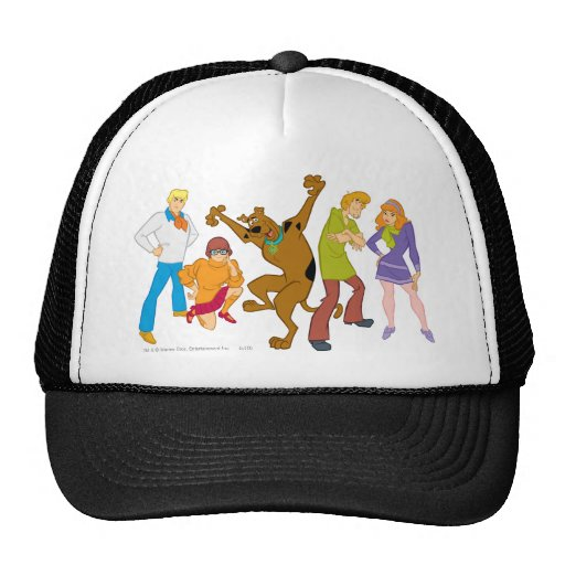 Whole Gang 16 Mystery Inc Hat