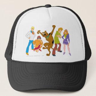 Whole Gang 16 Mystery Inc Trucker Hat