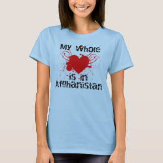 Whole Heart (Afghanistan, Red) T-Shirt