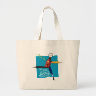 Whole Life Charter School Tote Canvas Bag