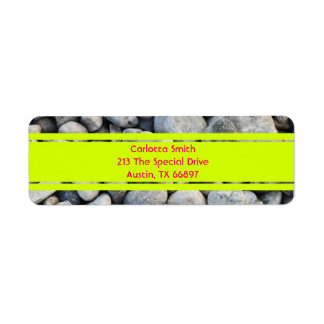 Whole lotta rocks! Bright Edition Address Labels