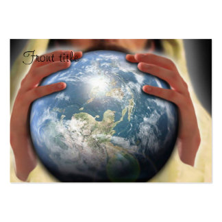 Whole World in His Hands Business Cards