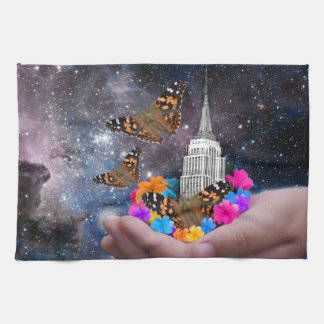 Whole World in my Hands Kitchen Towel