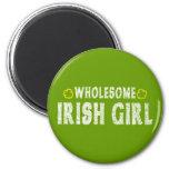 Wholesome Irish Girl Fridge Magnets