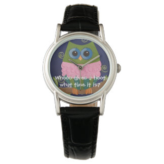 Whoo Gives a Hoot What Time It Is? Watch