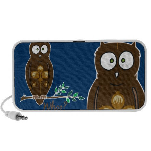 Whoo? Owl Doodle Speaker