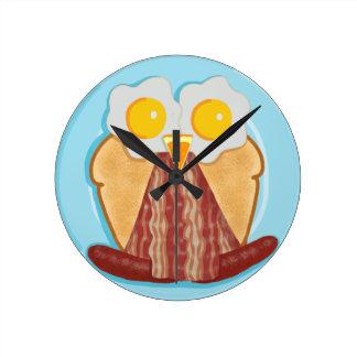 Whoo Wants Breakfast? Owl Clock