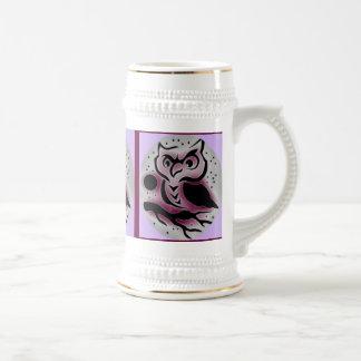 WHOO, WHOO, WHOO....WISE OLE OWL BEER STEINS