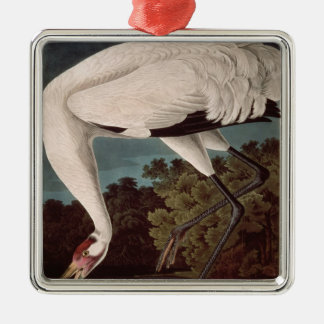 Whooping Crane, from 'Birds of America' Christmas Ornament