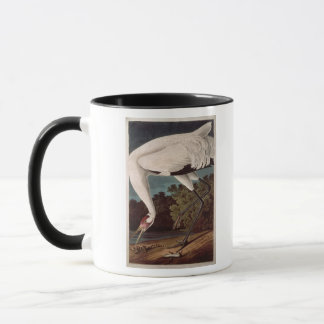Whooping Crane, from 'Birds of America' Mug