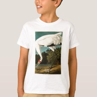 Whooping Crane John James Audubon Birds of America T-Shirt