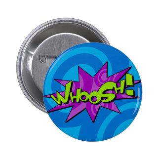 Whoosh Comic Book Badge