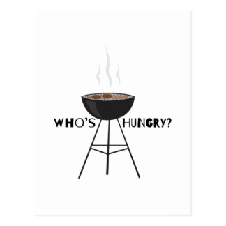 Whos Hungry Postcard