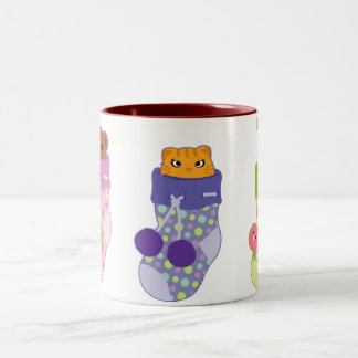 Who's in the sock coffee mugs