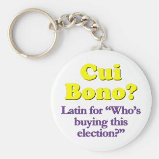 Who's paying for the campaign basic round button key ring