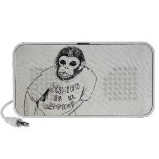 Who's the monkey? mp3 speaker