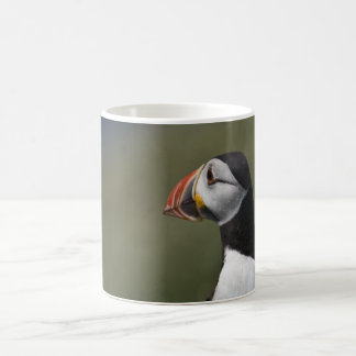 Who's There Puffin Basic White Mug