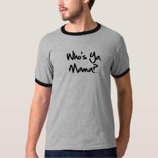 Whos Ya Mama NOLA Ringer T-Shirt