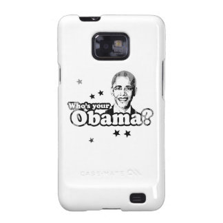 Who's your Obama Faded.png Samsung Galaxy S2 Covers