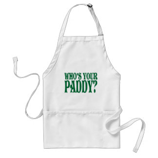 Who's Your Paddy Standard Apron