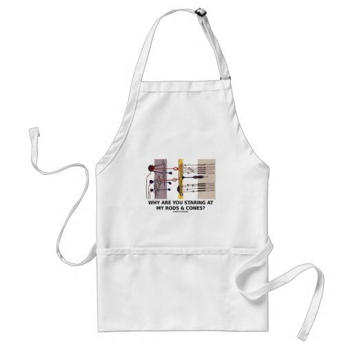 Why Are You Staring At My Rods & Cones? Aprons