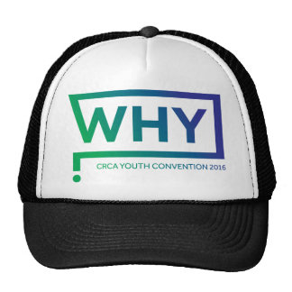 WHY Blue/Green Perth Convention 2016 Cap