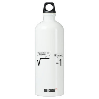 Why Can't We Be Together? It's Complex. Water Bottle