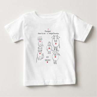 why coils one and eat the other baby T-Shirt