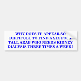 WHY DOES IT  APPEAR SO DIFFICULT? BUMPER STICKER