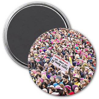 Why I March, There are so Many Issues Magnet