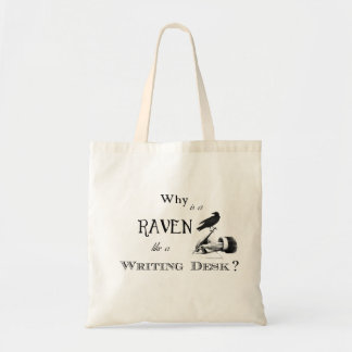 Why is a Raven like a Writing Desk Bag
