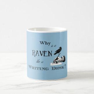 """""""Why is a Raven like a Writing Desk?"""" Mug"""