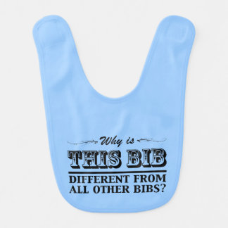 Why is this bib different?