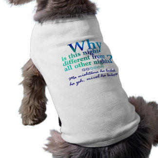 Why is this night sleeveless dog shirt