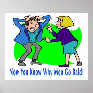 Why Men Go Bald Poster