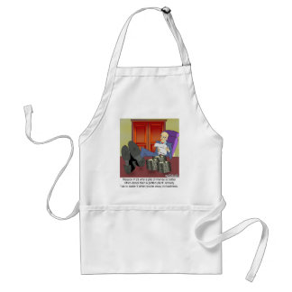 Why Money Is Better Than a Potted Plant Standard Apron