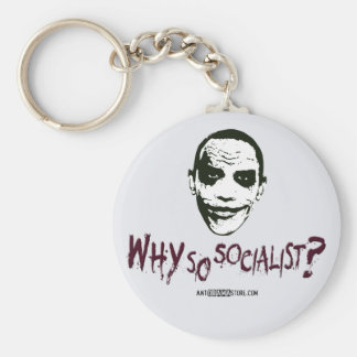 Why So Socialist? Keychain