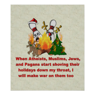 Why There's War On Christmas Poster