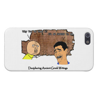 Why U NO and Laughing Guy Greek to Me Meme iPhone 5 Covers