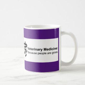 Why Veterinary Medicine? 11 oz. Purple Striped Mug