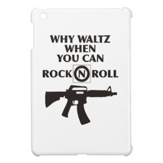 Why Waltz When You Can Rock & Roll iPad Mini Cover