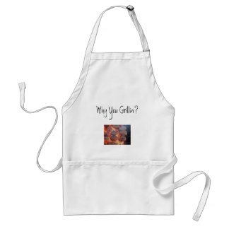 Why You Grillin'? Adult Apron