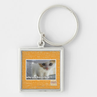 Why you has a hide? key ring