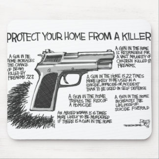 Why you need guns in homes mouse mat