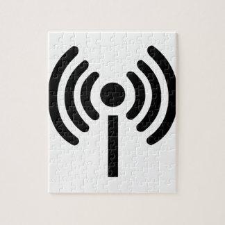 Wi Fi Symbol Jigsaw Puzzle