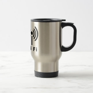 Wi Fi Symbol Travel Mug