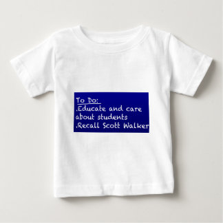 WI Teacher To Do List Baby T-Shirt
