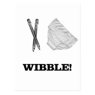 Wibble Postcard