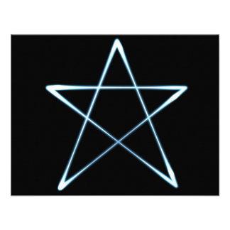 wicca light custom invite