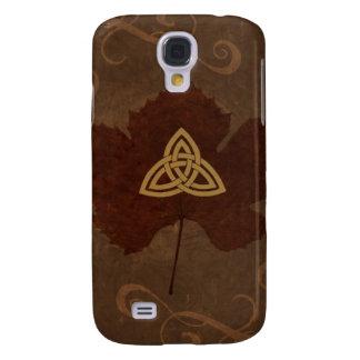 Wicca Rustica: Celtic Autumn Galaxy S4 Case